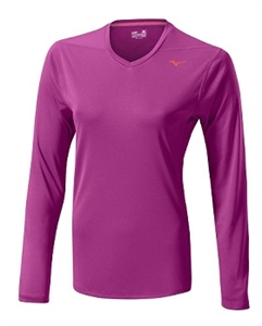 Picture of Mizuno Ladies Drylite Core L/S Tee