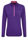 Picture of Ron Hill Ladies Thermal 200 1/2 Zip Tee
