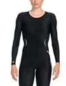 Picture of Skins Womens A400 Compression Long Sleeve Top