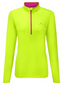 Picture of Ron Hill Ladies Vizion Thermal 200 1/2 Zip Top