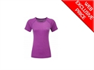 Picture of Ron Hill Ladies Momentum S/S Tee - Thistle