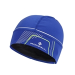 Picture of Ron Hill Run Beanie - Cobalt/Gecko