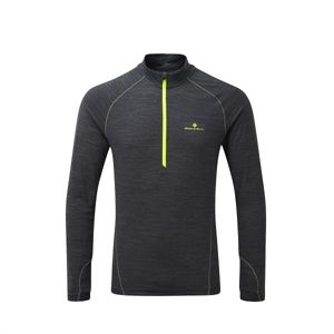 Picture of Ron Hill Stride Thermal L/S Zip Tee