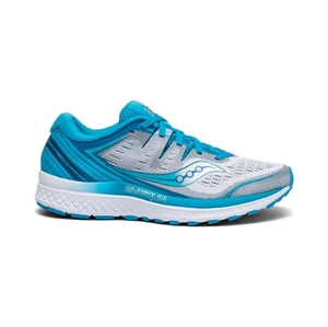 Picture of Saucony Ladies Guide ISO 2 - White/Blue