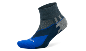 Picture of Balega Enduro Quater Running Sock - CharcoalCobalt