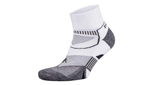 Picture of Balega Enduro Quater Running Sock - WhiteGrey