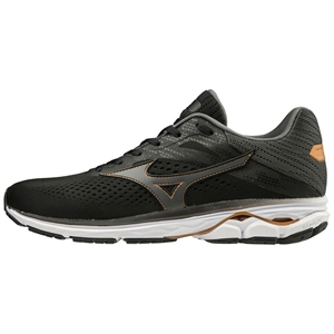 Picture of Mizuno Men's Wave Rider 23 - Black
