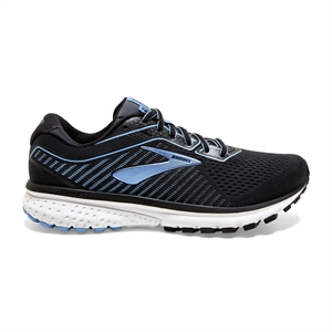 Picture of Brooks Ladies Ghost 12 - Black