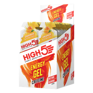 Picture of High 5 Energy Gel Caffeine - Orange