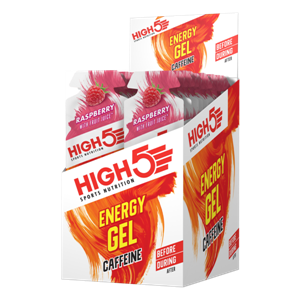 Picture of High 5 Energy Gel Caffeine - Raspberry