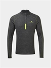 Picture of Ron Hill Men's Tech Thermal 1/2 Zip Tee - Granite