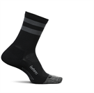 Picture of Feetures Elite Light Cushion Mini Crew - Black Stripe