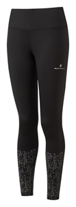 Picture of Ron Hill Ladies Life Night Runner Tight - Black