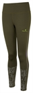 Picture of Ron Hill Ladies Life Night Runner Tight - Khaki